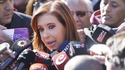 """""""Ich habe dem Präsidenten immer gesagt, dass mich die angespannte soziale Lage beunruhigt"""":   Cristina Kirchner"""