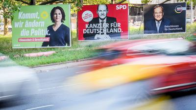 Wer wird neue(r) Kanzlerin oder Kanzler: Annalena Baerbock (Grüne), Olaf Scholz (SPD) oder Armin Laschet (Union)?