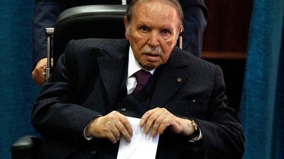 Algeriens früherer Staatschef Abdelaziz Bouteflika.