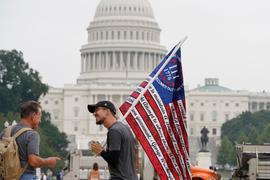 Demo-Teilnehmer inWashington.