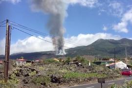 Auf der Kanareninsel La Palma ist einVulkan ausgebrochen.