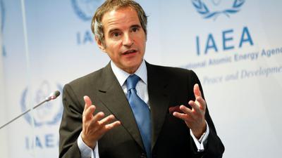 Rafael Mariano Grossi ist Generaldirektor der Internationalen Atomenergiebehörde IAEO.
