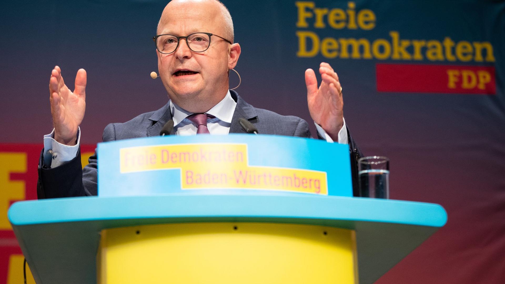 Michael Theurer, Vorsitzender der FDP Baden-Württemberg.