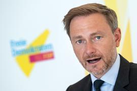 FDP-Parteichef Christian Lindner spricht in Berlin.
