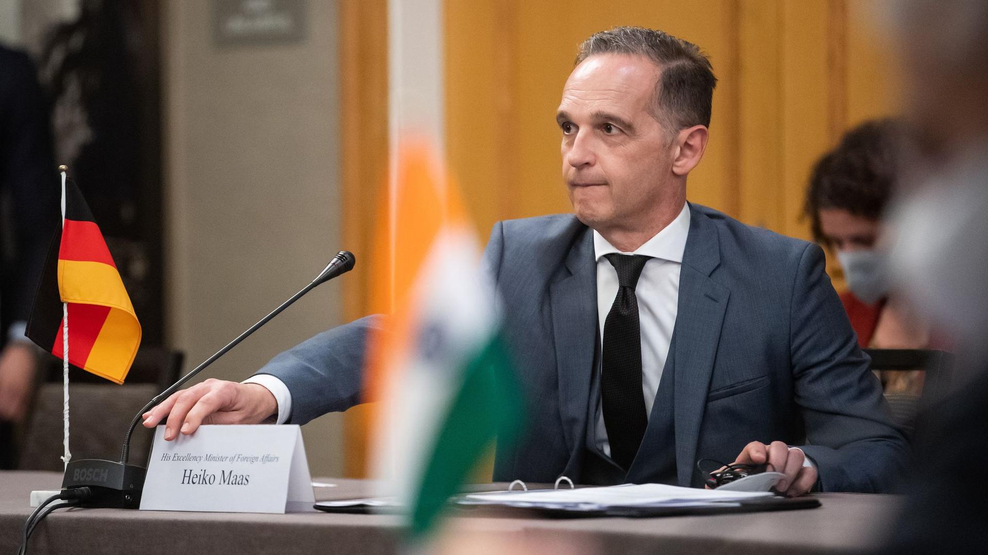 Heiko Maas (SPD), Außenminister, trifft sich beim sogenannten G4-Außenminister-Format mit seinen Amtskollegen aus Brasilien, Indien und Japan, um mit ihnen über die Reform des UN-Sicherheitsrates zu debattieren.