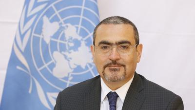 Der stellvertretende UN-Sonderbeauftragte für Afghanistan, Ramiz Alakbarov. Nach der Machtübernahme der Taliban warnen die Vereinten Nationen vor verheerenden Folgen der eskalierenden wirtschaftlichen Krise.
