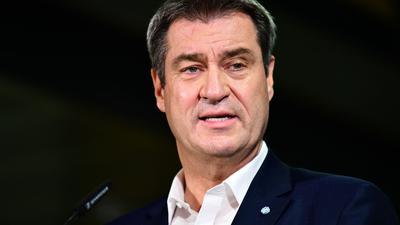 Der CSU-Vorsitzende Markus Söder ist enttäuscht vomErgebnis der Bundestagswahl.