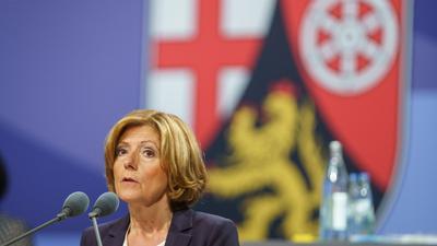 Die rheinland-pfälzische Ministerpräsidentin Malu Dreyer (SPD) regiert zusammen mit FDP und Grünen.