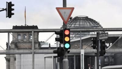 Die Ampelkoalition ist ein mögliches Regierungsbündnis nach der Bundestagswahl.