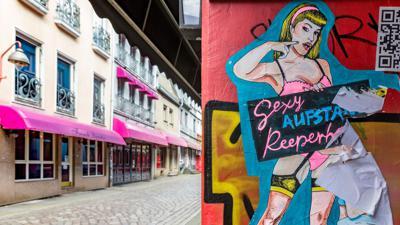 Vergangenes Jahr war die Herbertstrasse in Hamburg teils menschenleer. Viele Sexarbeitende sind während des Lockdowns in die Illegalität abgewandert - und dort geblieben.