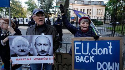 In vielen Großstädten Polens sind für heute Proteste angekündigt.