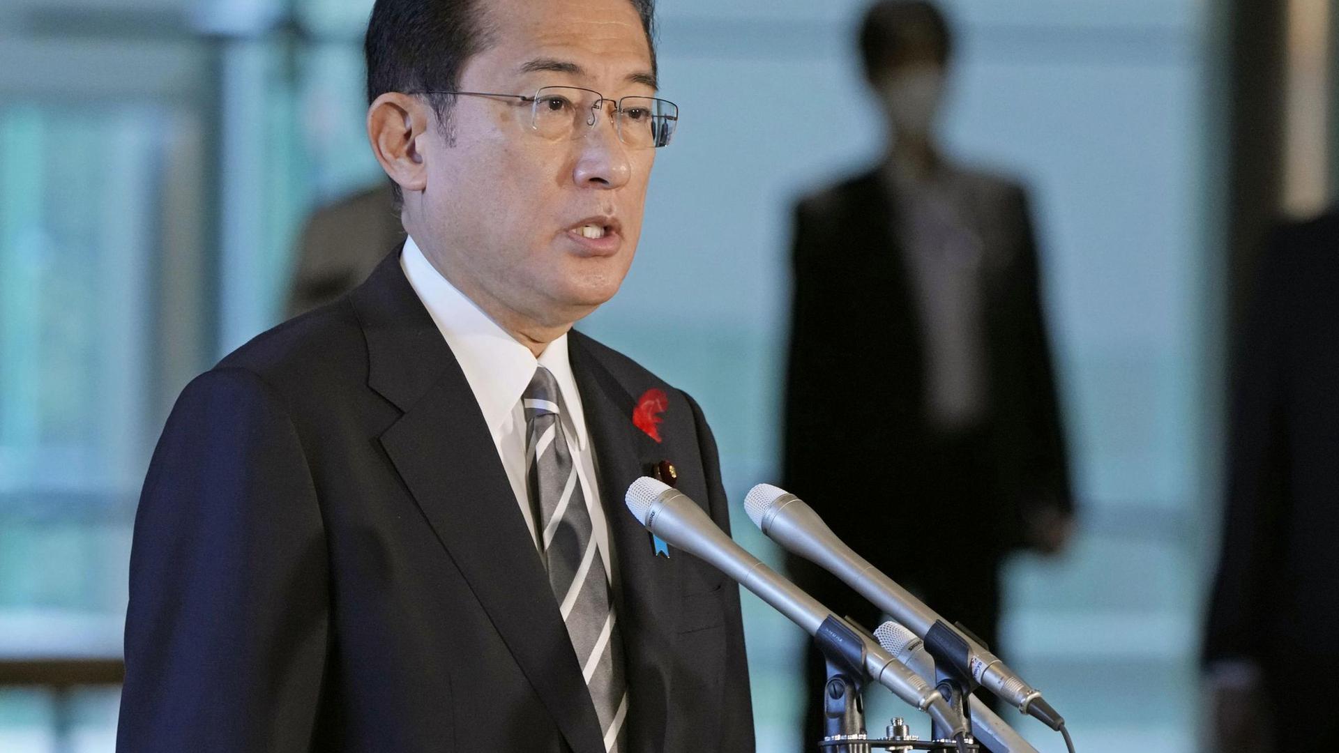 Fumio Kishida, Japans neuer Regierungschef.