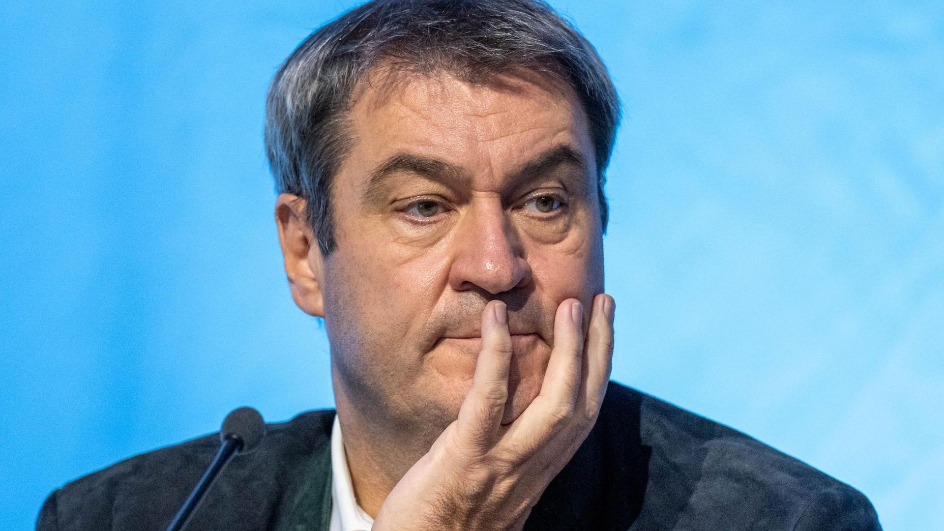Markus Söder hat seinen Auftritt beim Deutschlandtag der Jungen Union abgesagt.