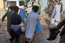Schon vor einer Woche hatte es in Afghanistan einen Anschlag auf eine schiitische Moschee gegeben.