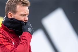 Bayern-Trainer Julian Nagelsmann wurde positiv auf das Coronavirus getestet.