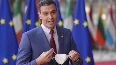 Spaniens Ministerpräsident Pedro Sanchez ist für eine Reform der europäischen Strommärkte.