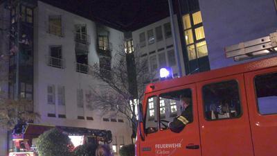 Der Sachschaden bei dem Brand in der Uniklinik Gießen wird auf etwa eine Million Euro geschätzt.