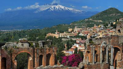 Der Ätna auf Sizilien war in diesem Jahr bisher sehr aktiv.