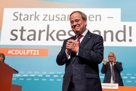 Hatte bereits vor der Bundestagswahl erklärt, im Fall eines Scheiterns nicht nach NRWzurückzukehren: Armin Laschet.