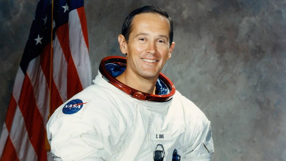 Charlie Duke landete 1972 auf dem Mond.
