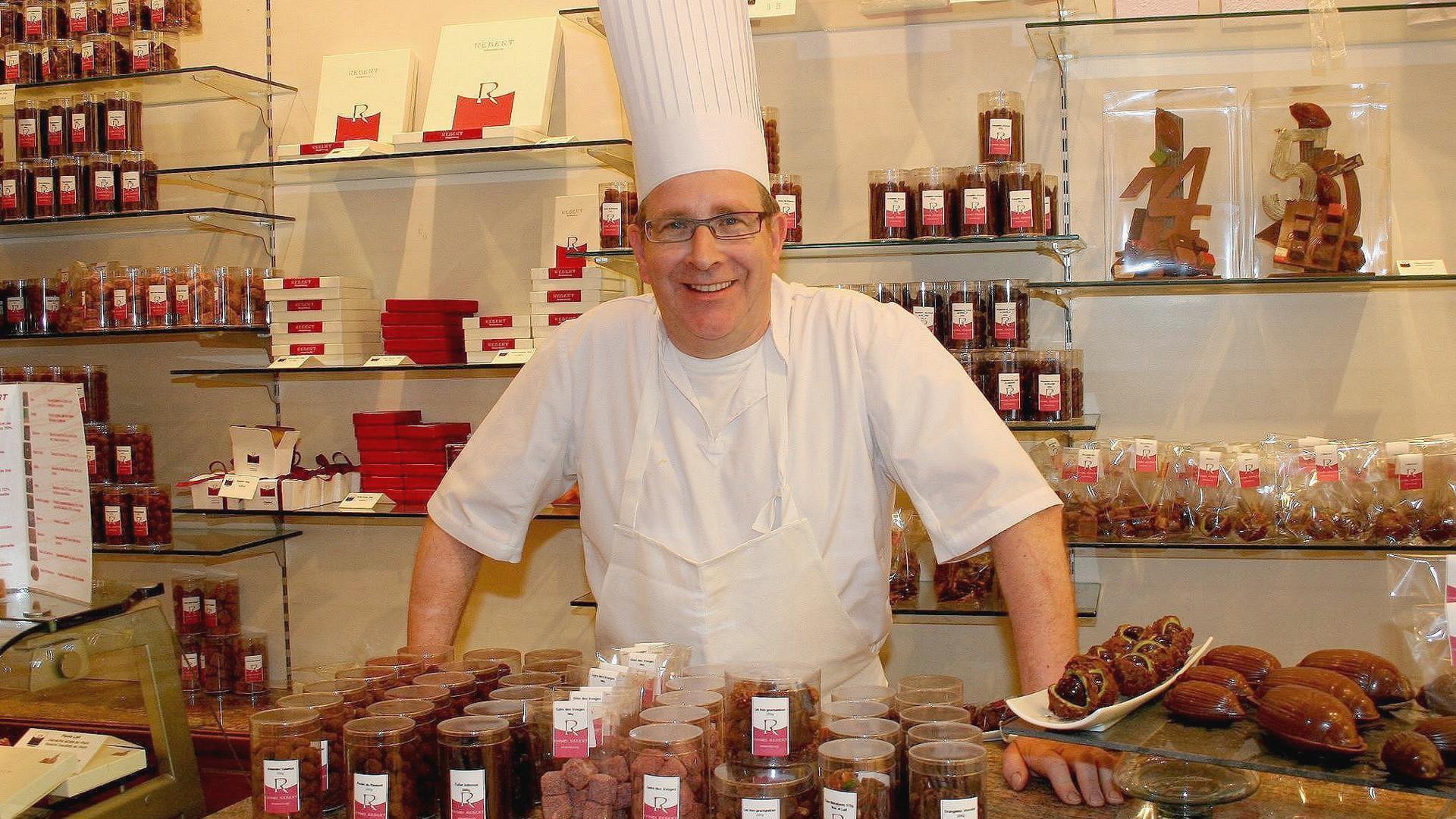 Hoch dekoriert: Patissier Daniel Rebert, Chef der gleichnamigen Konditorei im idyllischen Wissembourg.