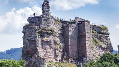 Burg Fleckenstein im Elsass