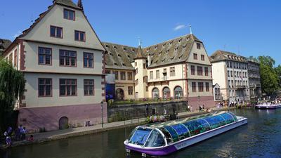 Boot Häuser Straßburg