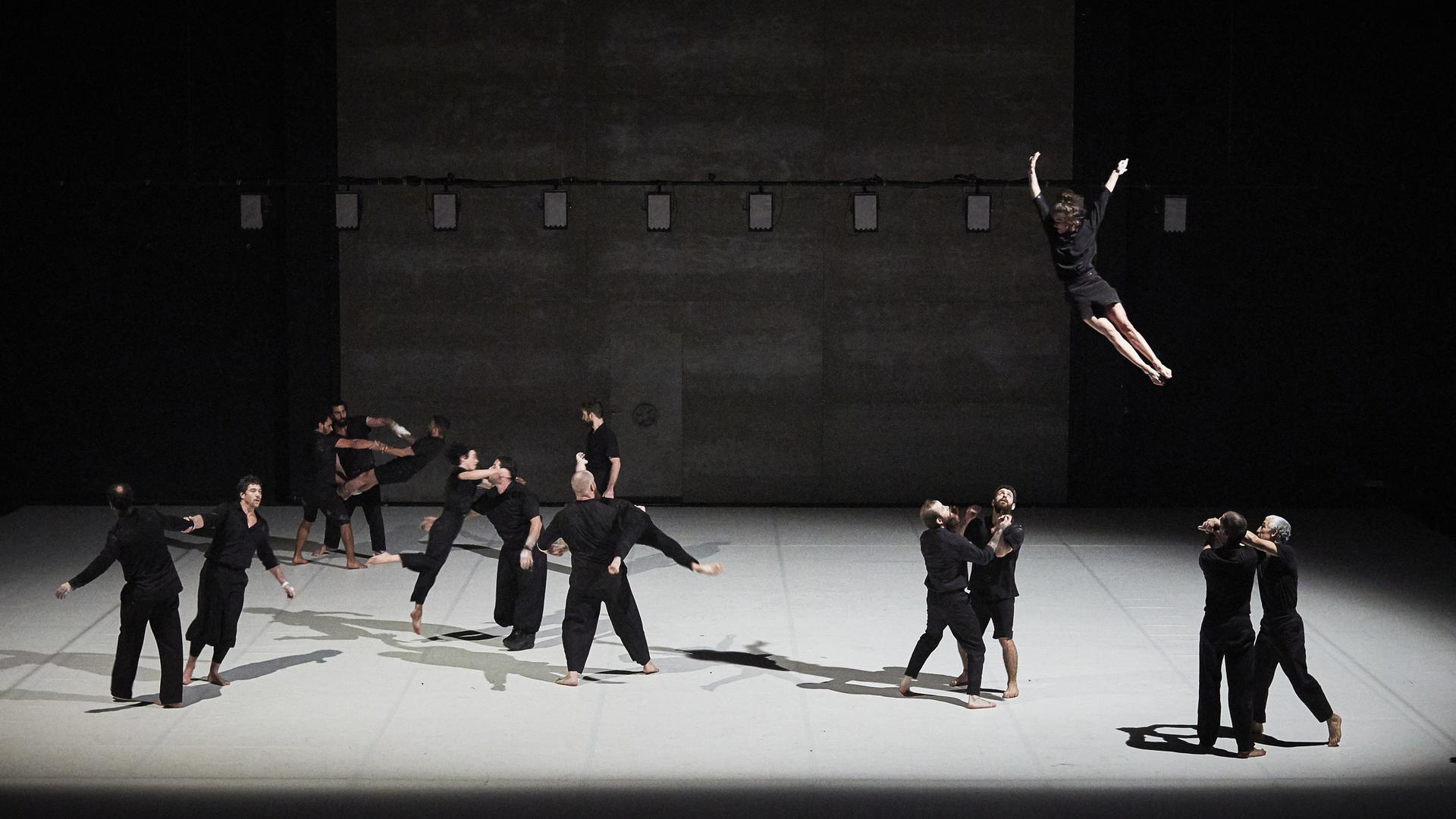 "Szene aus dem Stück ""Möbius"", Atoll-Festival Karlsruhe 2020"