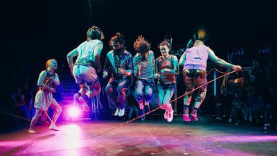 Circus I Love You show at Leuven, Belgium, May 2019