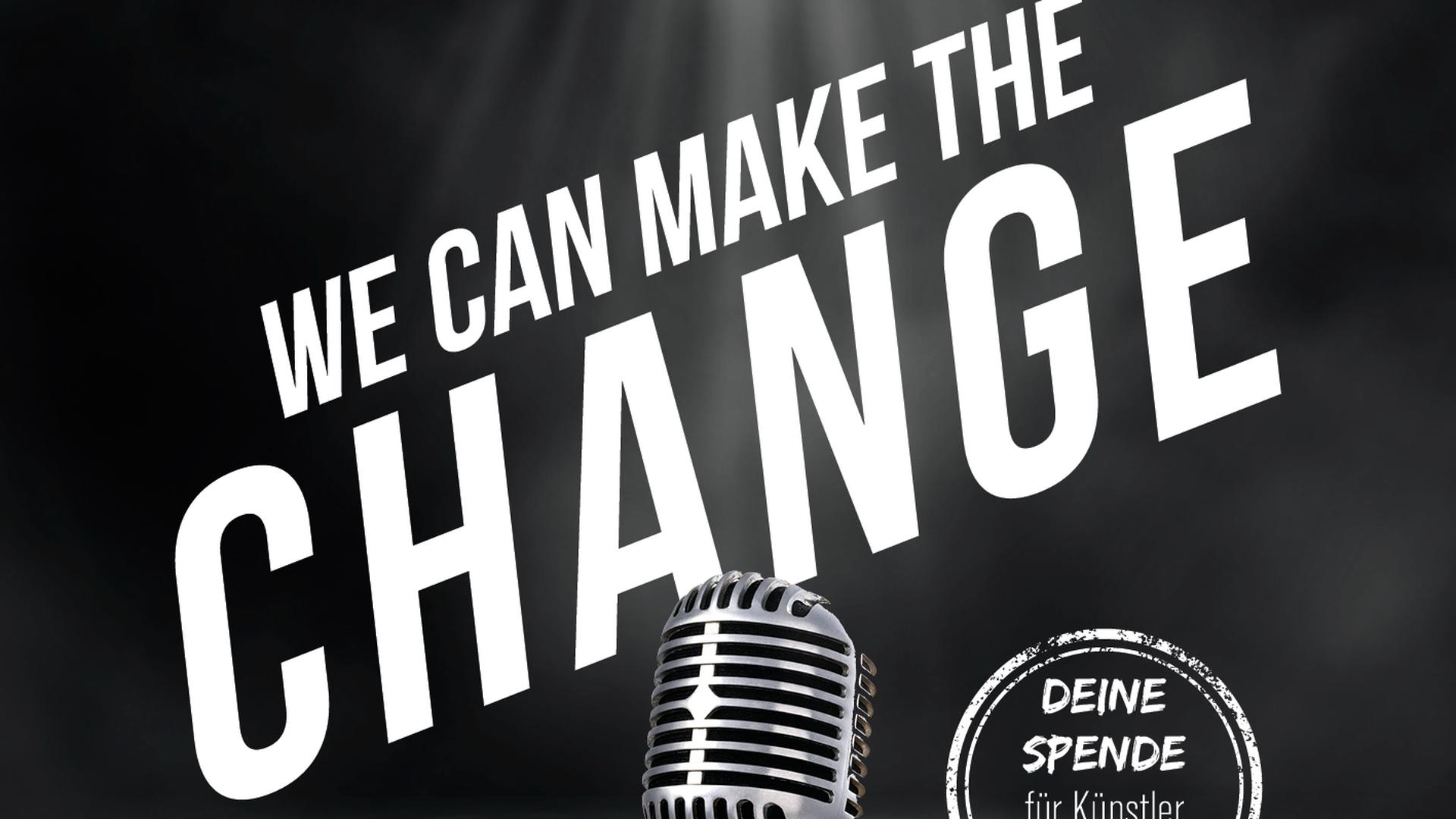 """Cover zum Benefizsong """"We can make the Change"""""""