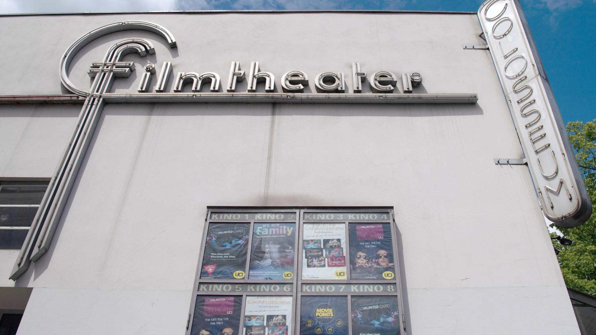 """Das Kino """"Colosseum"""" muss aufgrund der Corona-Beschränkungen und den damit verbundenen Umsatzverluste Insolvenz anmelden."""