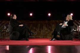 """Teodor Currentzis dirigiert das SWR-Symphonieorchester präsentiert von Thomas Gottschalk"""", am Donnerstag (31.12.20) um 17:00 Uhr im ARD."""