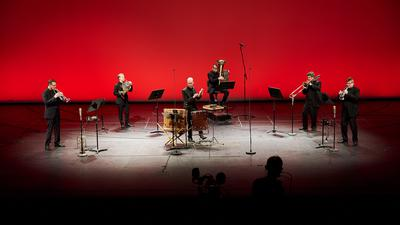 Musiker der Badischen Staatskapelle in einem Kammermusikvideo im März 2021.