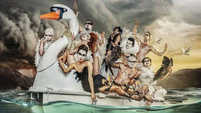 """Die niederländische Tanzgruppe Club Guy & Roni kommt mit """"Swan Lake"""" zum Festival """"Tanz Karlsruhe"""" 2020."""
