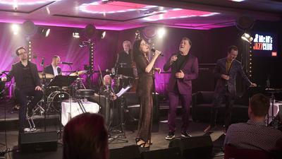 Mr. M's Jazzclub mit Gastgeber Marc Marshall und Sängerin Lisa Bassenge