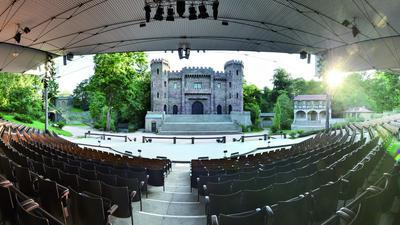 Bühne der Volksschauspiele Ötigheim
