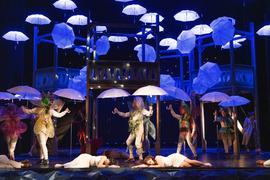 "Szene aus der Oper ""Sommernachtstraum"" am Theater Pforzheim"