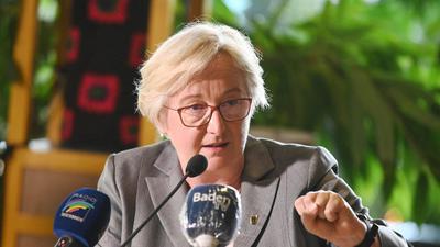 Theresia Bauer (Bündnis 90/Die Grünen), Ministerin für Wissenschaft, Forschung und Kunst.