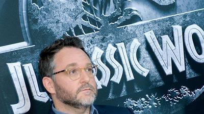 """Regisseur Colin Trevorrow bei der Premiere von """"Jurassic World"""" 2015."""