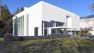 Im Museum Frieder Burda in Baden-Baden sind Werke von Pierre Soulages zu sehen.