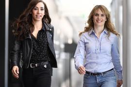 """Anna Pieri Zuercher (r) und Carol Schuler ist das neue Ermittlerduo des Schweizer """"Tatort""""."""