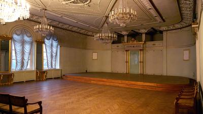 Der Wagner-Konzertsaal in Riga.