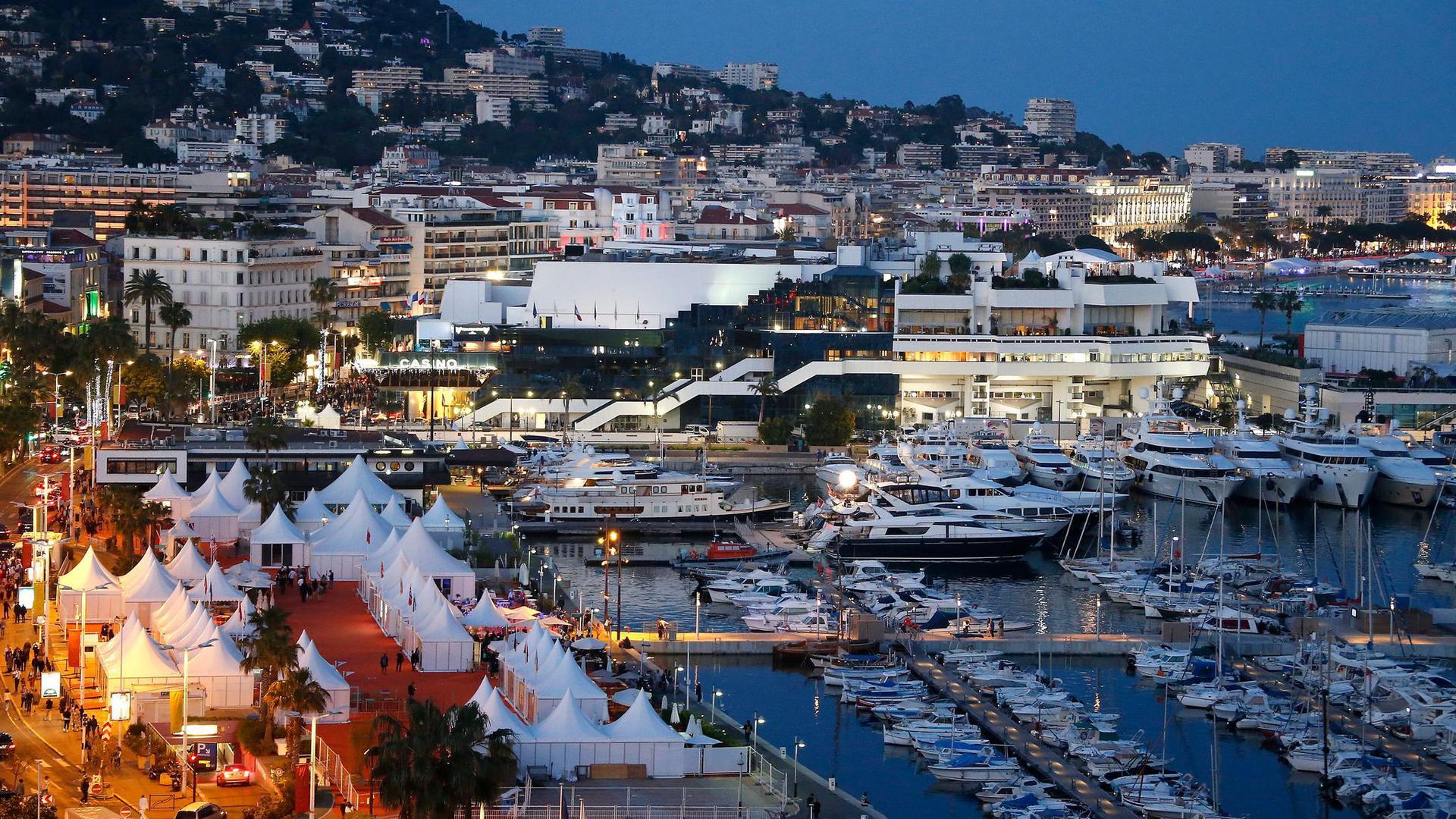 In Cannes werden wieder Filme gezeigt.