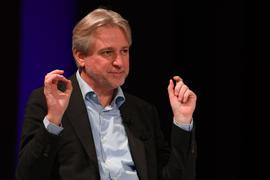Juergen Boos, Geschäftsführer der Frankfurter Buchmesse