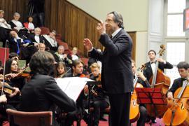 Maestro Riccardo Muti soll das Konzert am 1. Januar bereits zum sechsten Mal dirigieren.