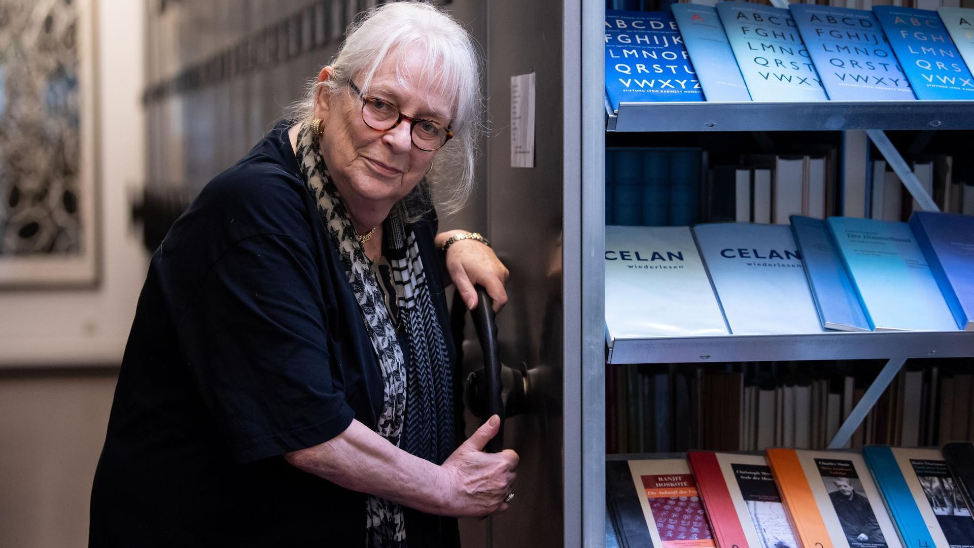 Ihr Herz gehörte der Poesie:Ursula Haeusgen ist mit 78 Jahren gestorben.