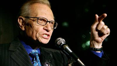 Larry King ist im Alter von 87 Jahren gestorben.