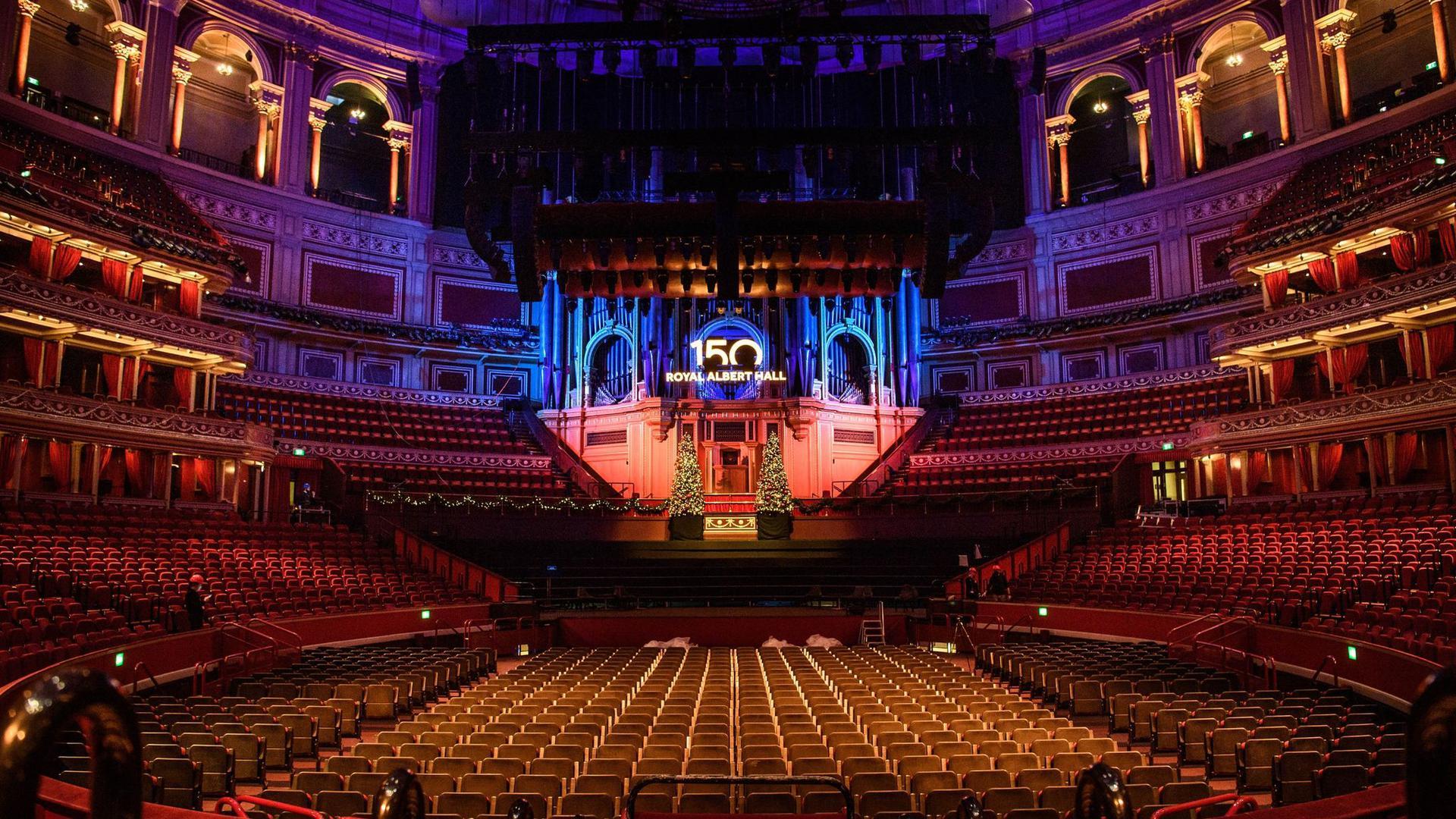 Die Royal Albert Hall feiert ihr 150-jähriges Bestehen.