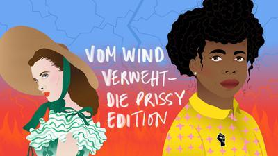 """""""Vom Wind verweht - Die Prissy Edition"""": ein schwarzes Kindermädchen steht im Vordergrund."""