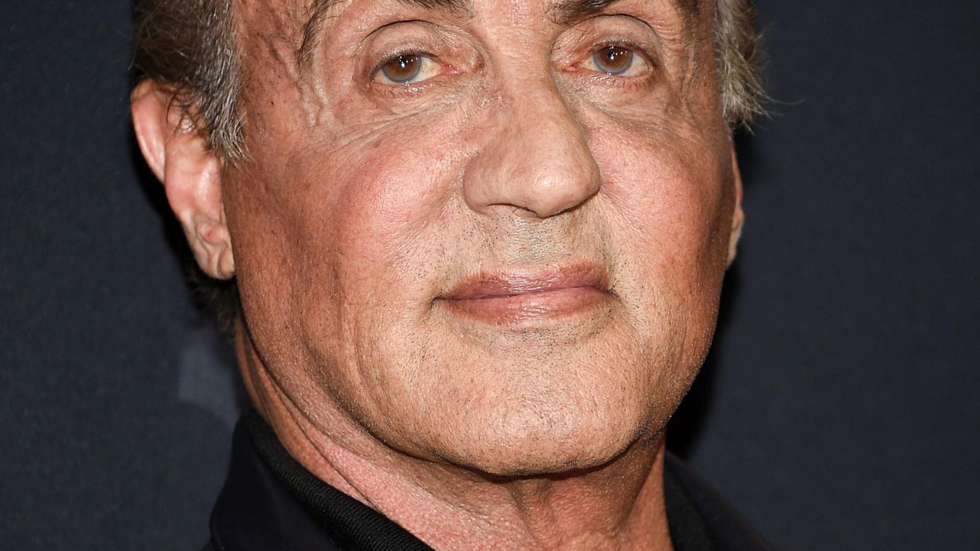 """Sylvester Stallone kommt 2019 zu einer Vorstellung des Films """"Rambo: Last Blood"""" am AMC Lincoln Square in New York."""